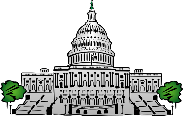 Drawing Us Government Buildings