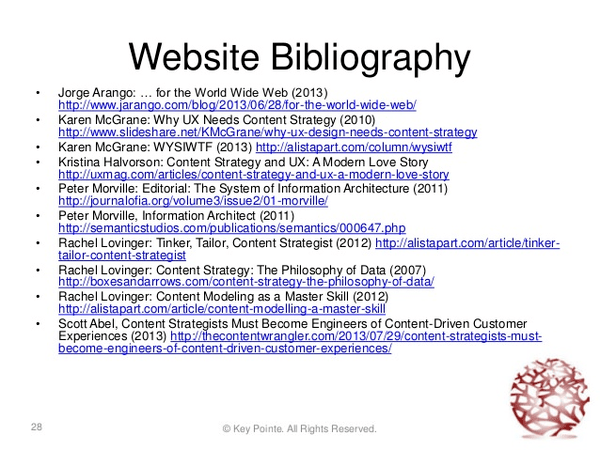 Annotated bibliography websites