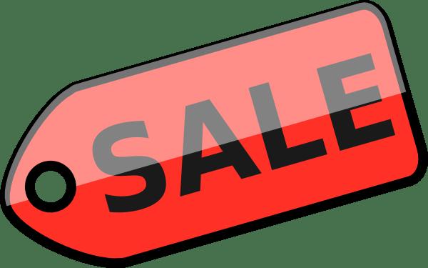 Art Sale Clip Yard Small