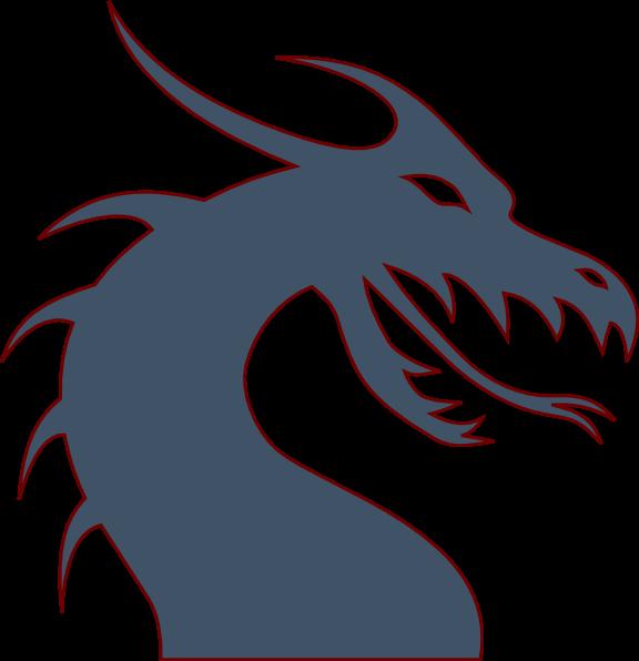 Download Blue Dragon Clip Art at Clker.com - vector clip art online ...