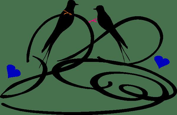Download Love Birds Clip Art at Clker.com - vector clip art online ...