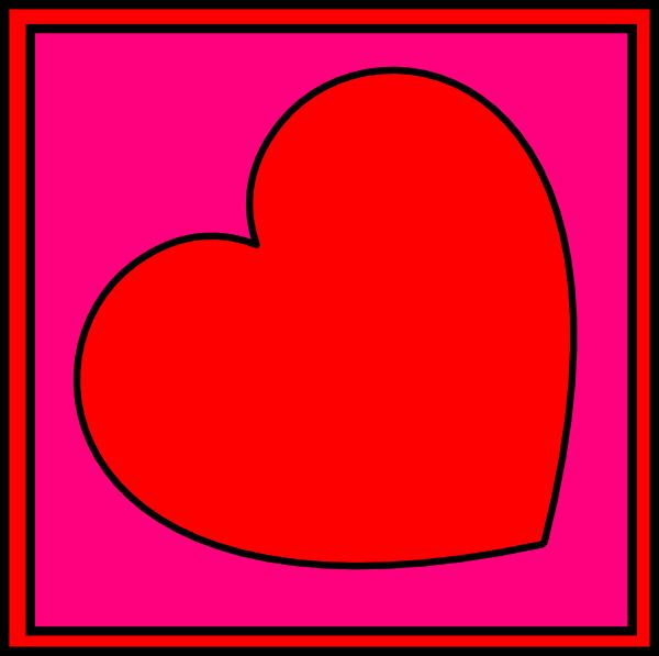 Valentines Day Potholder Clip Art At Vector