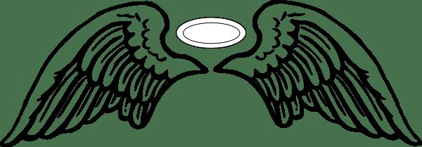 Angel Wings Halo Clip Art At Vector Clip Art