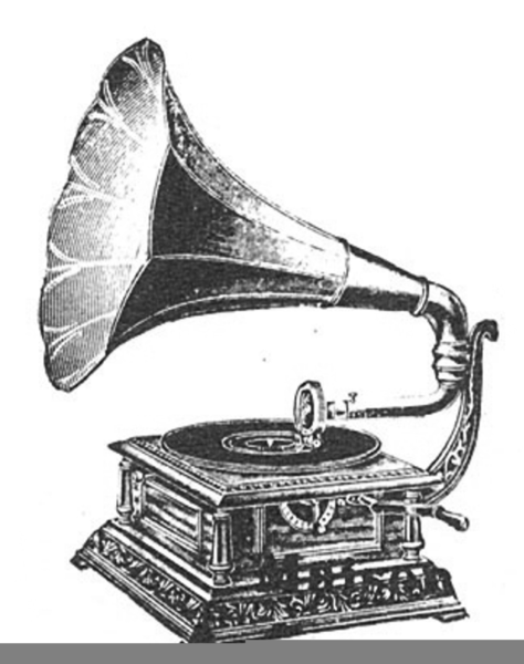 Free Clipart Of Gramaphone Free Images At Clker Com Vector Clip Art Online Royalty Free Public Domain