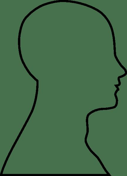 Head Outline Clip Art At Vector Clip Art