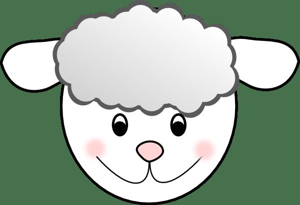 Girl Smiley Face Art Clip