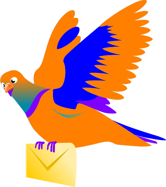 Email Message Bird Clip Art At Vector Clip Art