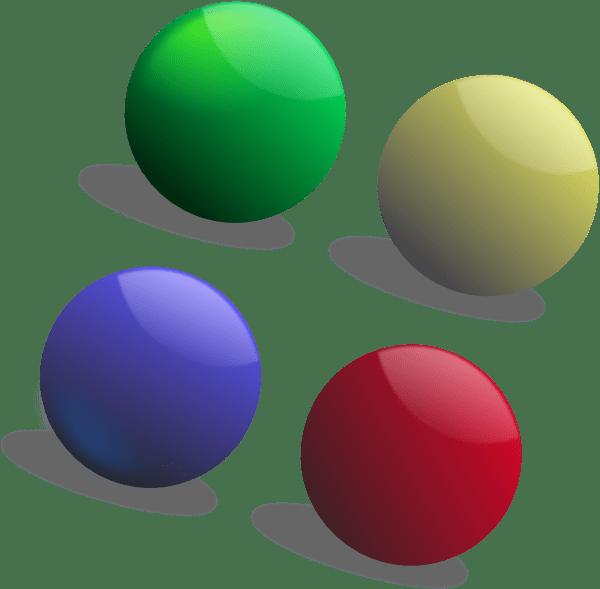 Colour Balls Clip Art at Clkercom vector clip art