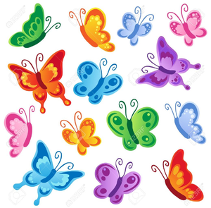 Free Printable Butterfly Clipart Free Images At Clker Com Vector Clip Art Online Royalty Free Public Domain