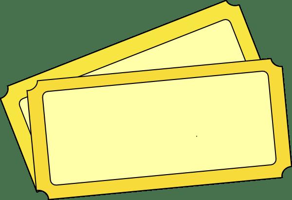 Edit Ticket Template Clip Art At Clker Com Vector Clip
