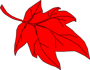 Red Apple With Leaf Clip Art At Vector Clip (8) - Modern Home Revolution