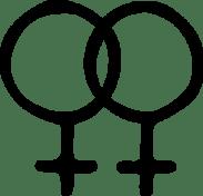 Female Homosexual Symbol Clip Art