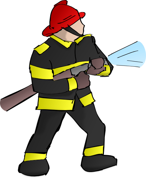 Fire Fighter Clip Art At Clker Com Vector Clip Art Online Royalty Free Public Domain