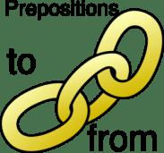 Prepositions Link Clip Art