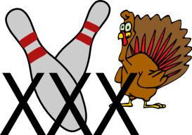 Image result for bowling with a turkey clipart