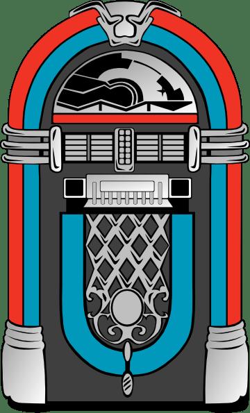 Red And Blue Jukebox Clip Art At Clker Com Vector Clip