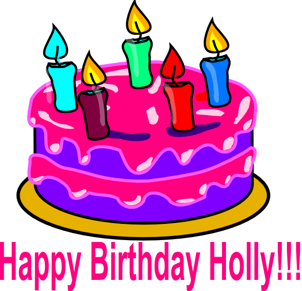 Musical Happy Birthday Clip Art