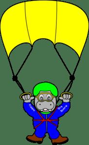 parachute hippo
