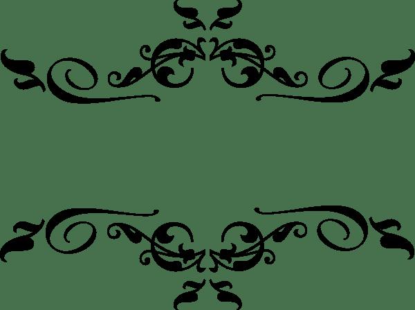 Black Swirl Border Clip Art At Vector Clip Art