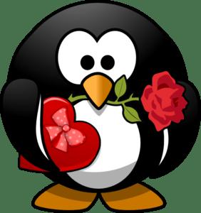Valentine Penguin Clip Art At Vector Clip Art