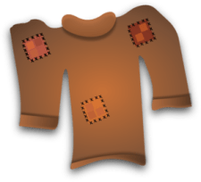 Worn Out Sweater Clip Art