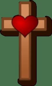 Download Love At Cross Clip Art at Clker.com - vector clip art ...