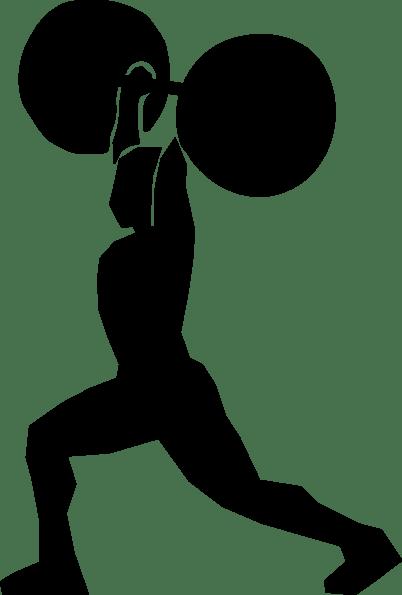 Weight Lifter Clip Art At Clker Com Vector Clip Art