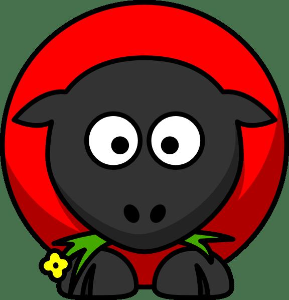 Red Sheep Clip Art At Vector Clip Art Online