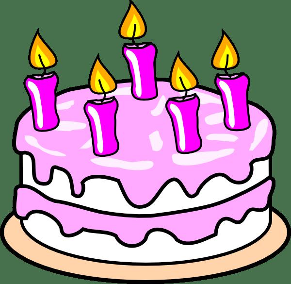 Birthday Cake Pictures Clip Art