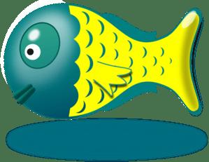 Cartoon Baby Fish Clip Art At Clker Com Vector Clip Art