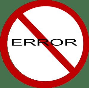 No Error Sign Clip Art