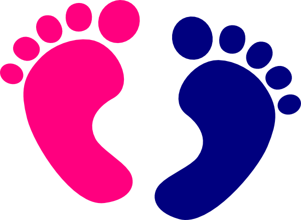 Download Baby Feet Clip Art at Clker.com - vector clip art online ...