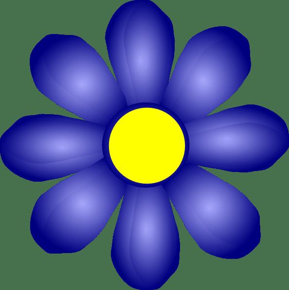 Blue Flower Clip Art at Clker.com - vector clip art online ...