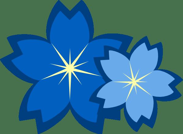Blue Flowers Clip Art at Clker.com - vector clip art ...
