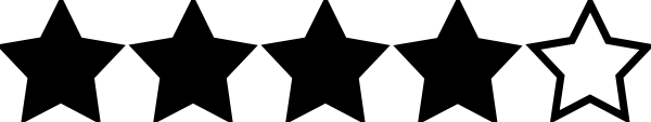 Image result for image of four star rating