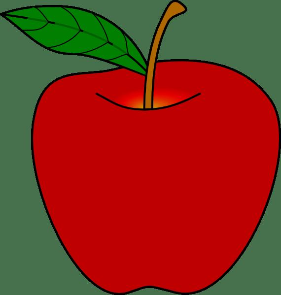 apple middle science observations clker hi source