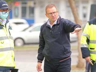 Primarul municipiului Călărași, Marius Dulce, a plecat în control pe străzile orașului. FOTO Facebook