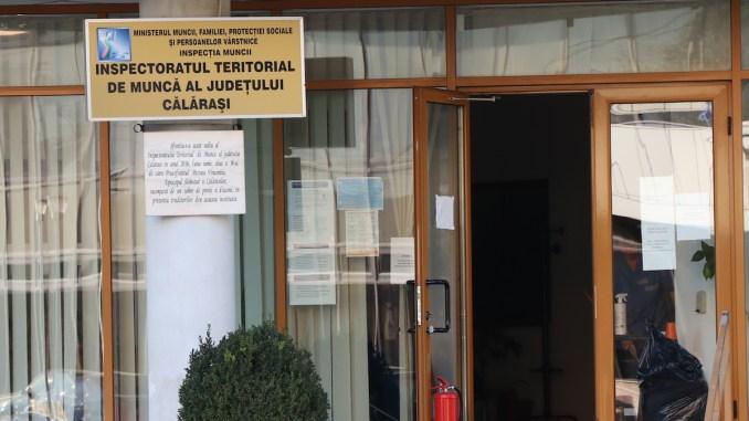 Sediul ITM Călărași. FOTO Adrian Boioglu / CLnews