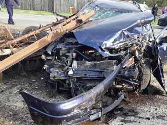 Accident rutier la Tămădău Mare. FOTO ISU Călărași