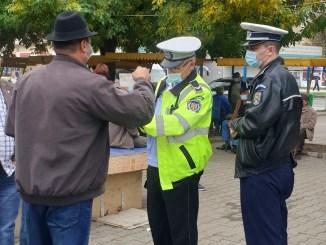 Polițiștii au controlat respectarea măsurilor de prevenire a răspândirii COVID-19. FOTO IPJ Călărași