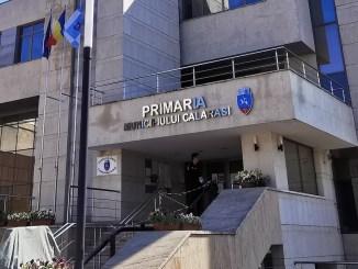 Primăria Municipiului Călărași. FOTO PMC