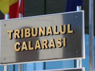 Tribunalul Călărași. FOTO Adrian Boioglu