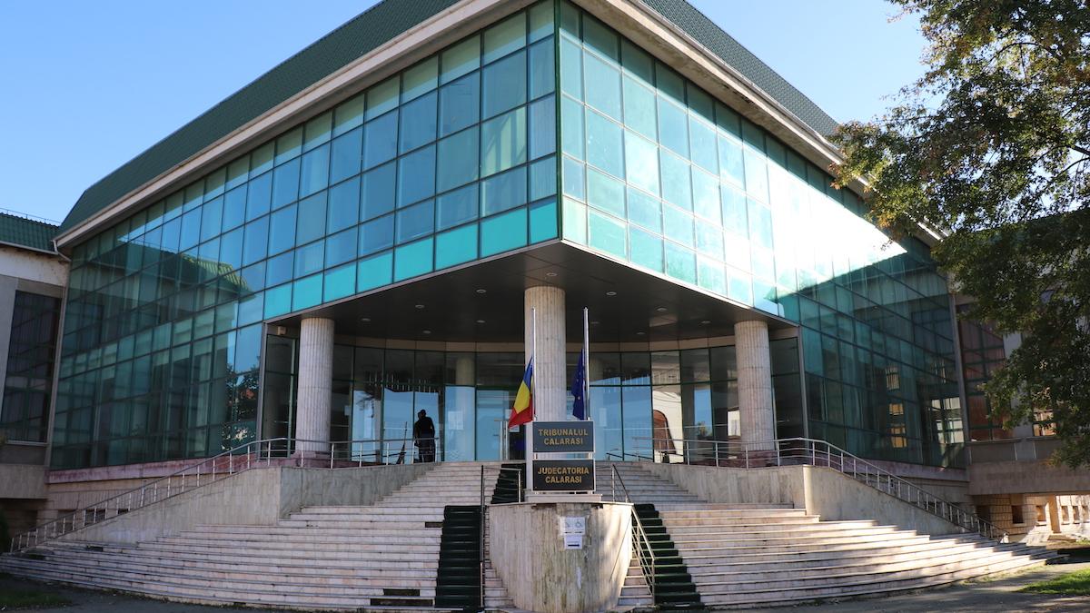 Palatul de Justiție din Călărași. FOTO Adrian Boioglu