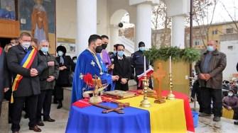 Ceremonie de Bobotează restrânsă în Călărași, în condiții de pandemie. FOTO Primăria Călărași