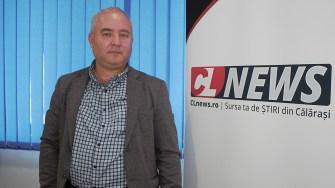 Primarul comunei Dragalina, Marian Gabriel Stanciu. FOTO Paul Alexe