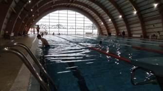 Bazinul de înot din Călărași. FOTO Victor Radu