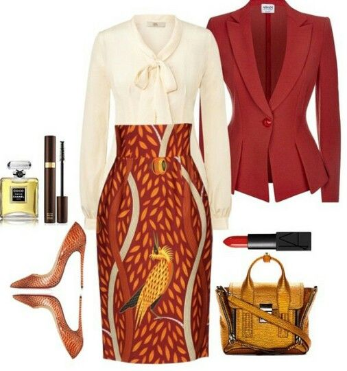 Power Dressing Styles For Working Women African