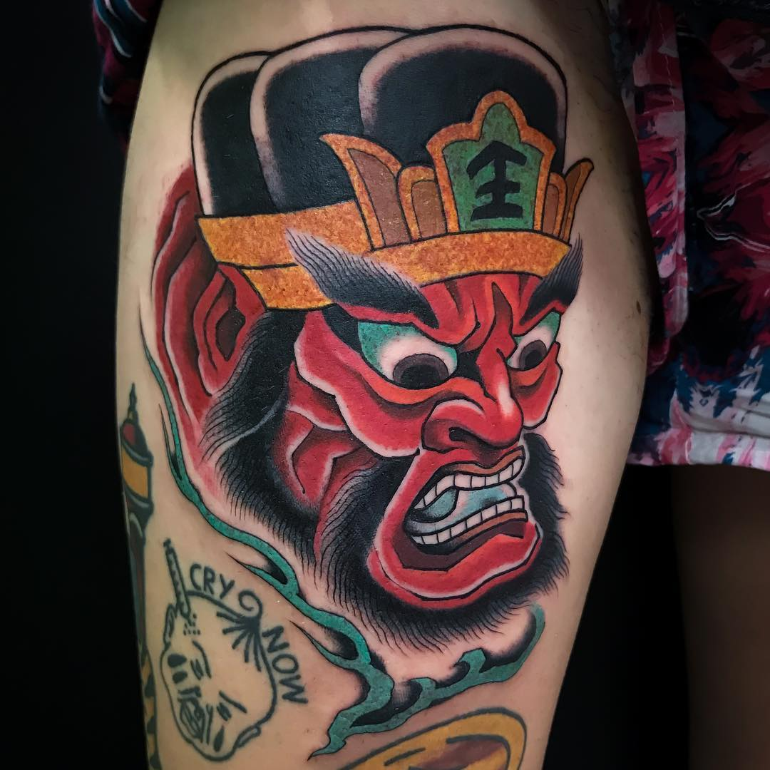 Japanese Tattoo by Davide