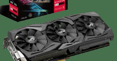 การ์ดจอ ROG Strix Radeon RX 590 ประสิทธิภาพความแรงจากค่าย AMD