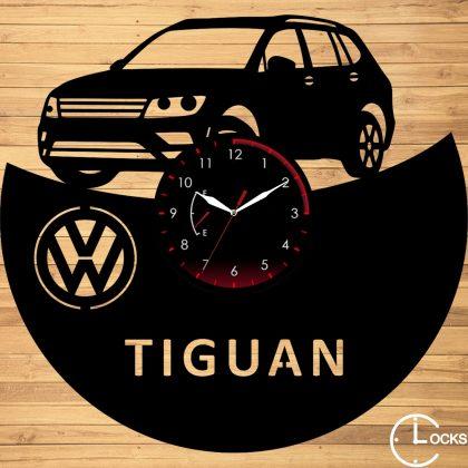 Ceas de perete din lemn volkswagen tiguan